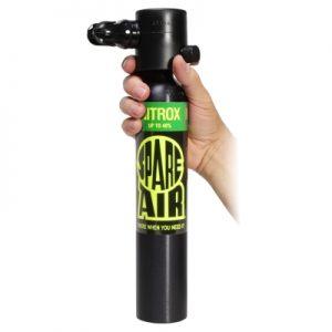 réserve d'air, air de secours, air supplémentair, bouteille de secours, bouteille pony